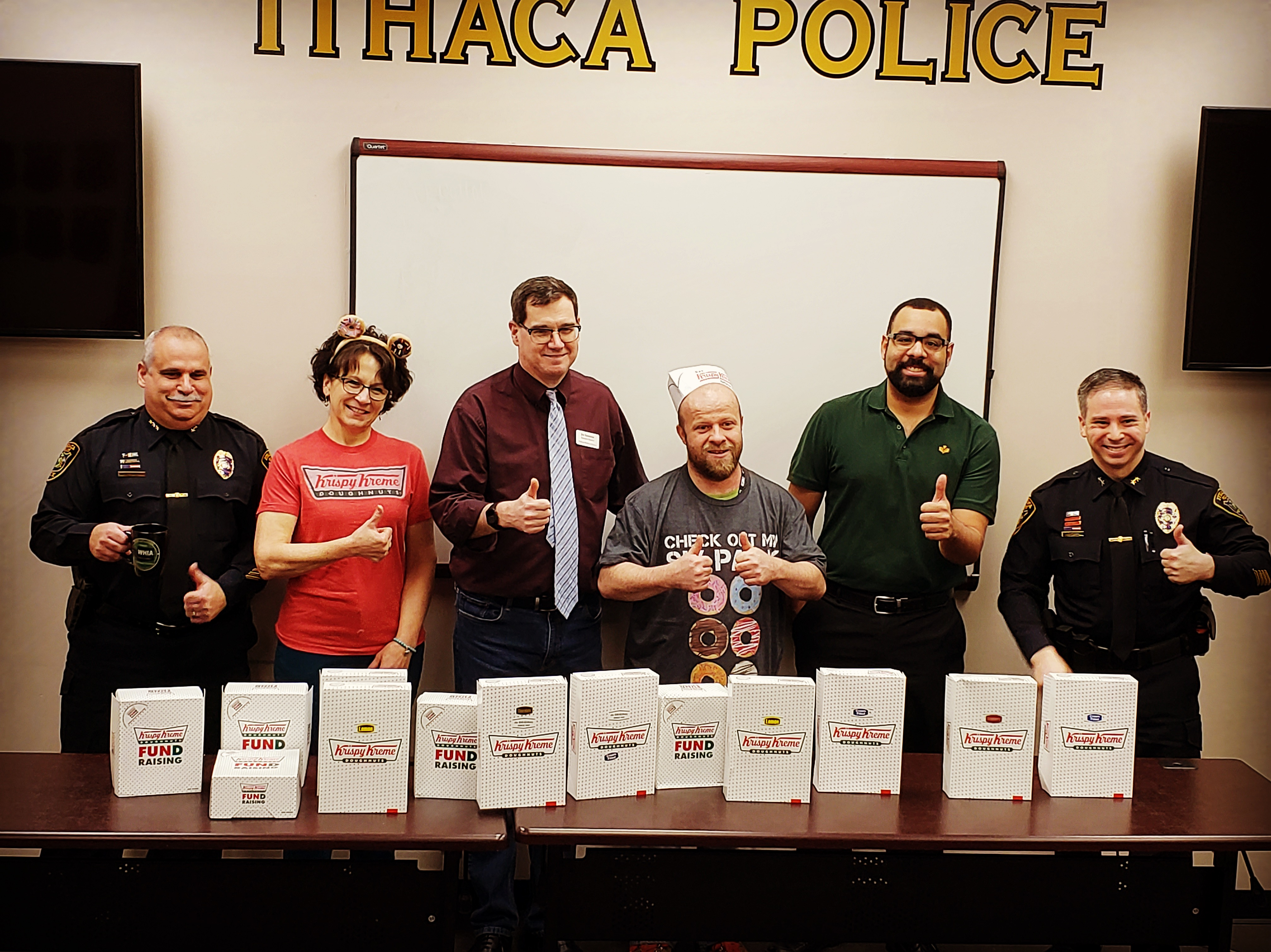 TTC, Challenge Workforce, and the Ithaca Police Department